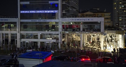Possibility of sabotage examined in Ankara tax office explosion probe, governor says