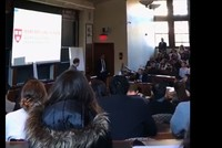 Harvard law students walk out of lecture held by Israeli Consul General
