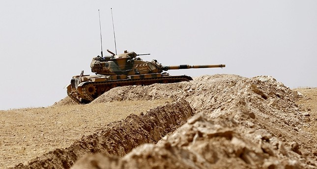 Turkish military shells 25 terrorist targets in northern Syria