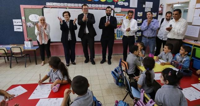 بدء تدريس اللغة التركية في مدارس القدس الشرقية