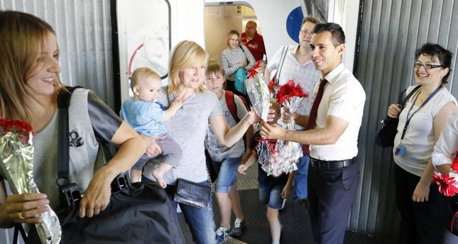 Number of Russian tourists coming to Antalya hits all-time high