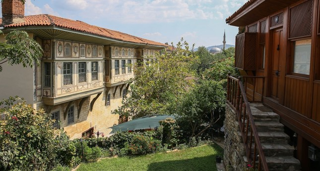 Birgi Çakırağa Mansion is appreciated for its detailed wood workmanship and panoramic views.