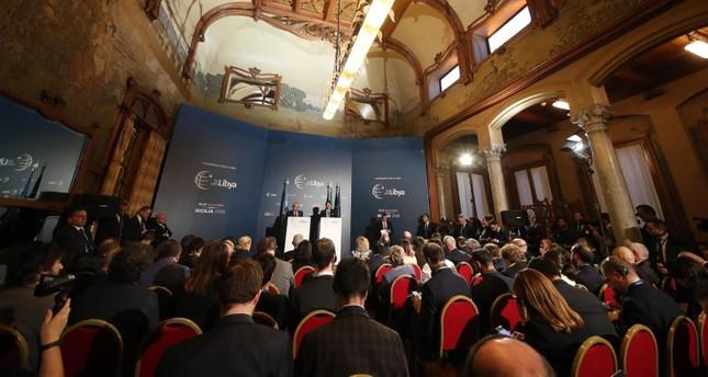 """Iالبيان الختامي لمؤتمر """"باليرمو"""" حول ليبيا"""