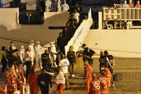 Italy lets stranded migrants leave ship 10 days after rescue