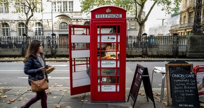 pFacing extinction due to ubiquitous mobile phones, Britain's classic red telephone boxes are being saved from death row by ingenious conversions into all sorts of new uses./p  pIt smells nice, a...