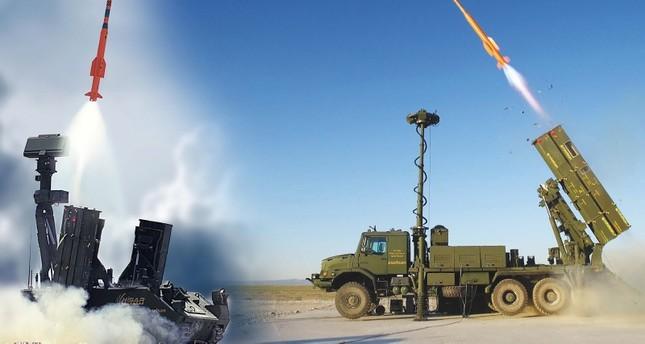 تركيا تجري اختبارات ناجحة لمنظومة الدفاع الجوي المحلية حصار أ