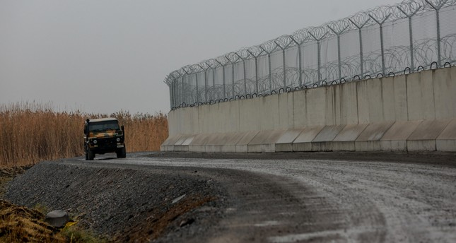 Over 70 km of security wall along Turkey-Iran border completed