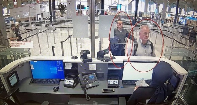 U.S. citizen Michael T. and Lebanese citizen George Antoine Z. reportedly assisted Ghosn in his escape and were spotted by security cameras at Istanbul Airport. AA Photo