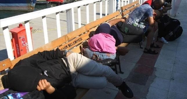 خفر السواحل التركي يضبط 61 مهاجرا غير شرعي في إزمير