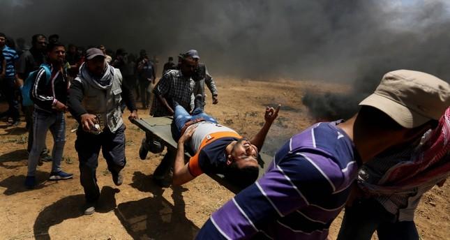 أكثر من 50 قتيلاً وآلاف المصابين بنيران إسرائيلية في غزة خلال مسيرات العودة