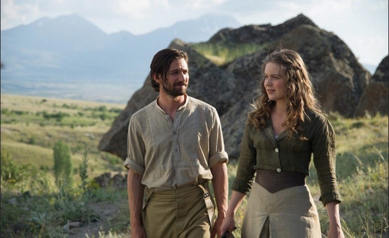 Michiel Huisman and Hera Hilmar star in u201cThe Ottoman Lieutenant,u201d which opened to US audiences on Friday. (Archive Photo)