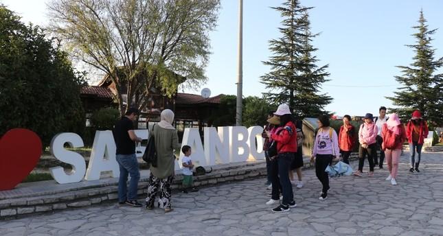 900 ألف سائح يزورون صفران بولو التاريخية شمالي تركيا منذ بداية العام