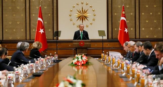أردوغان يلتقي ممثلي شركات أمريكية في تركيا
