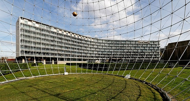 A general view shows the headquarters of the United Nations Educational, Scientific and Cultural Organization (UNESCO) in Paris, France, October 4, 2017. Picture taken October 4, 2017.  (Reuters Photo)