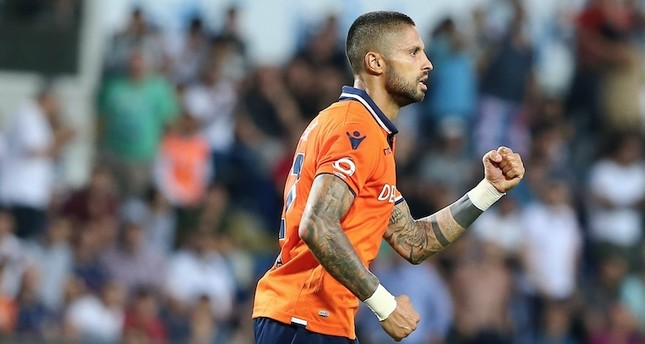 Da Costa scored Başakşehir's first goal against Çaykur Rizespor.