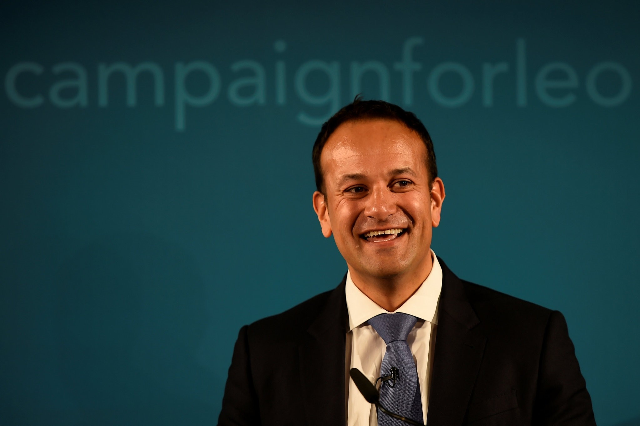 Ireland's Minister for Social Protection Leo Varadkar launches his campaign bid for Fine Gael party leader in Dublin, Ireland May 20, 2017. (REUTERS Photo)