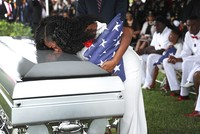 The pregnant widow of an American soldier killed in an ambush in Niger said Monday that Donald Trump had struggled to remember his name during a condolence call, in an account the president...