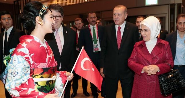 أردوغان في اليابان لحضور قمة العشرين