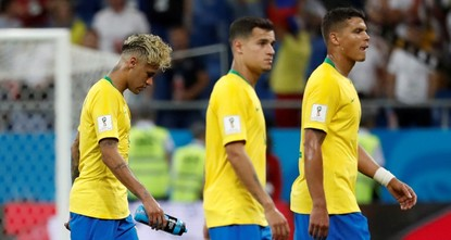 Brazil held 1-1 by Switzerland in World Cup