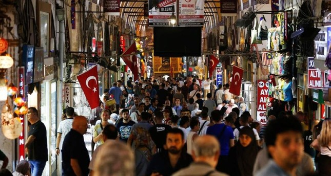 Tourists visit Istanbul's Grand Bazaar, one of the city's main tourist attractions, Friday, Aug. 17, 2018. AP Photo