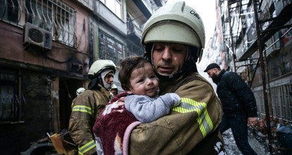 Rain or shine, Istanbul's firefighters stand ready