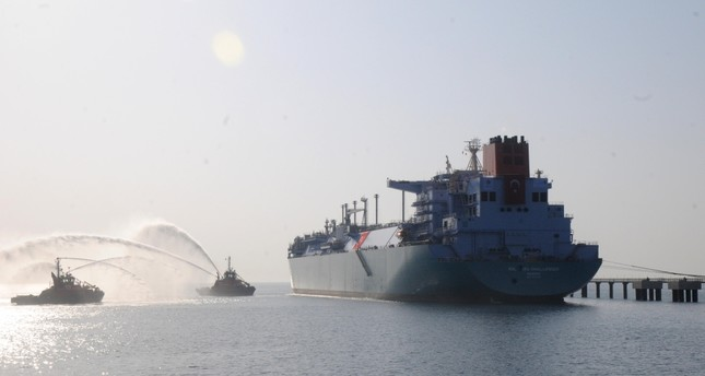 Turkey's second FSRU operated by BOTAŞ was commissioned in January 2018 in the Dörtyol district of southeastern Hatay province on the Mediterranean coast. DHA Photo