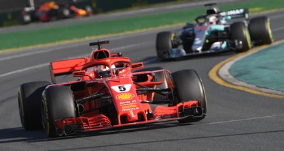 Vettel eyes 50th win as F1 title duel with Hamilton resumes in Spain