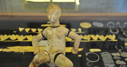 pA rare 3,000-year-old puppet doll displayed at the Gaziantep Medusa Glass Works Museum in southeastern Turkey has become the favorite artifact of visitors, reports said Sunday./p  pBeing the...
