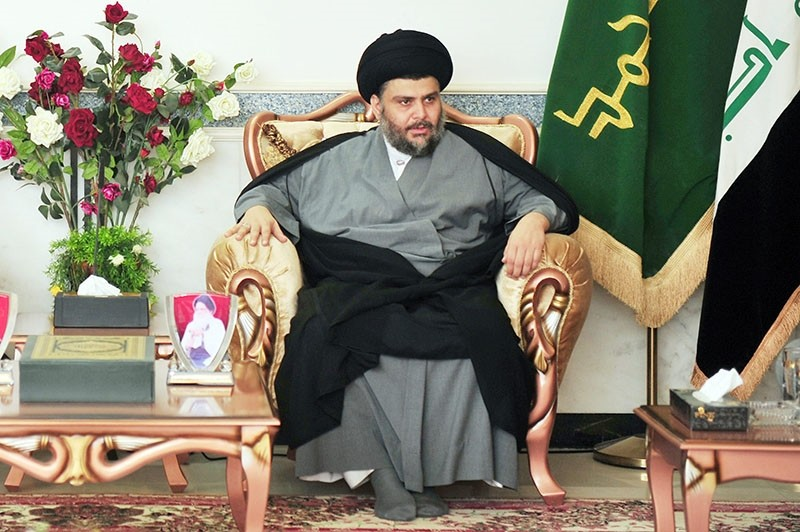 This file photo shows Moqtada al-Sadr before an interview in Baghdad, June 02, 2012. (Photo: Sabah / u0130lhami Yu0131ldu0131ru0131m)