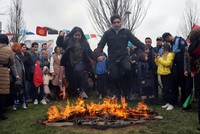 Ancient spring festival Nevruz fires up Turkey