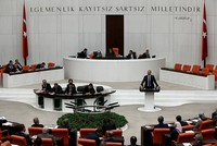 Turkish parliament ratifies election alliance bill