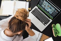 Precautions for burnout syndrome as part of occupational health, safety