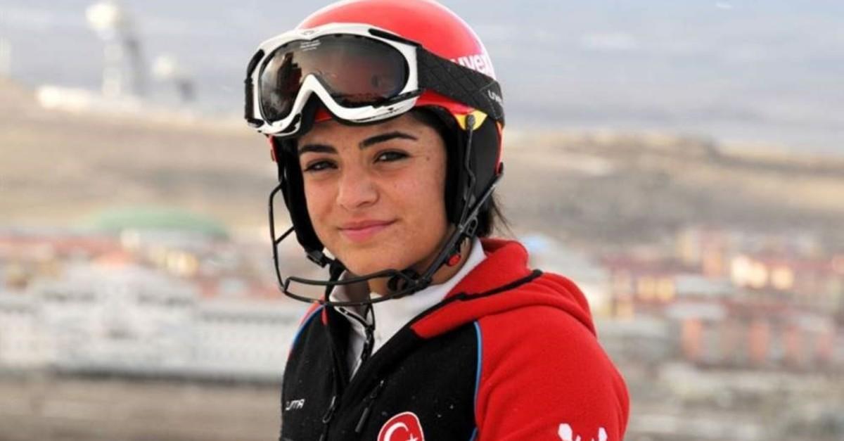 Turkish alpine skier S?la Kara. (AA Photo)