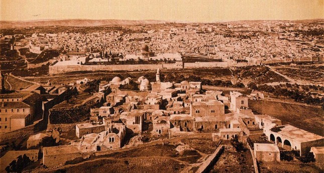 Jerusalem towards the end of the 19th century.