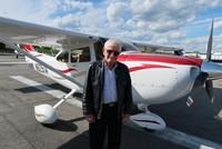 84-year-old Turkish pilot surpasses half a century flying in American skies