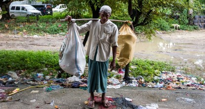 pWıth the few possessions they could gather, Rohingya Muslims head to the Bangladesh border, escaping what the international community terms as the ethnic cleansing of this small community in...