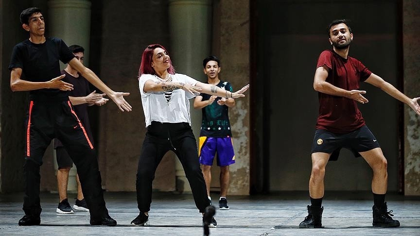 Roma dancers have been trained with the Fire of Anatolia team as part of the EU-backed project.