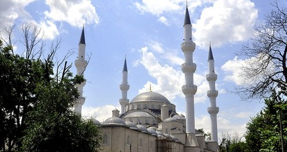 pA Turkish foundation has finished construction on the largest mosque in Central Asia, located in the Kyrgyz capital Bishkek./p