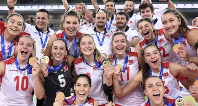 Turkish girls clinch first U23 world volleyball title