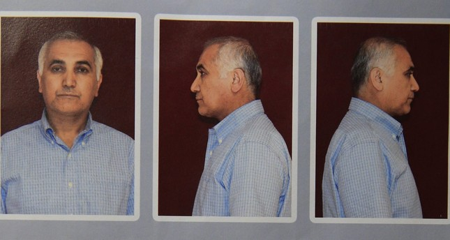 Police photo of Adil Öksüz shortly after the 2016 coup attempt was quelled. Öksüz is one of the most wanted men in Turkey and is accused of conspiring with Gülenist officers in an attempt to topple the government.