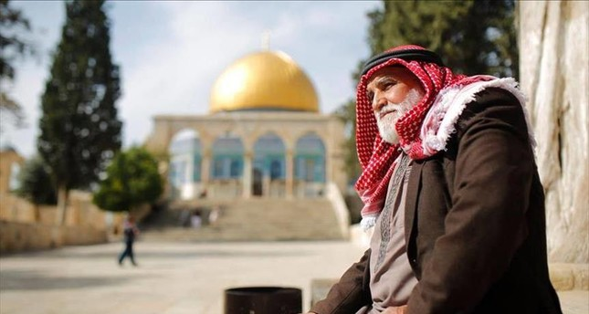 """""""I was never just an employee of Al-Aqsa. For me, it wasn't just a job - it was a way of life,"""" al-Aweiwi said about his services to the al-Aqsa Mosque."""