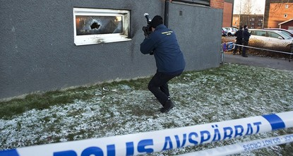 pSwedish police said Monday they suspected arson in connection with an overnight fire that damaged a Shiite mosque near the capital, Stockholm./p  pThe Imam Ali Islamic Centre in Jarfalla, a...