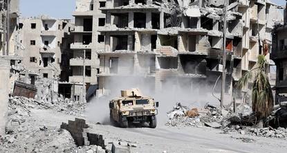 """pDer syrische PKK-Ableger, die """"Volksschutzeinheiten (YPG) und die Vereinigten Staaten bemühen sich Berichten zufolge die in Deir ez-Zor eingeschlossenen Daesh-Terroristen zur Evakuierung zu..."""
