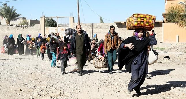 العراق.. فرار 150 أسرة من مدينة القائم التي يسيطر عليها داعش