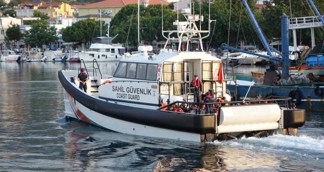 خفر السواحل التركي يضبط 58 مهاجرا خلال محاولتهم التسلل إلى جزيرة يونانية