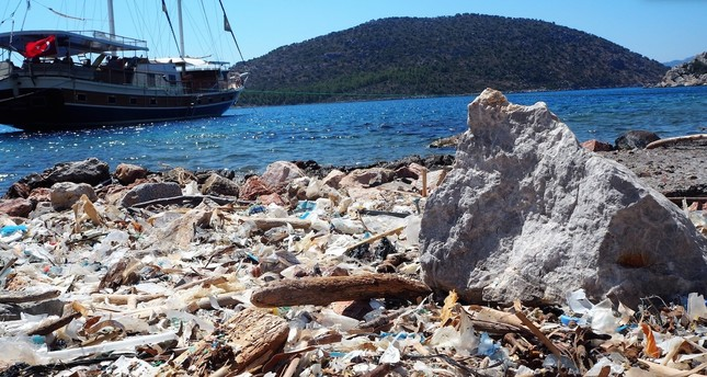 The coasts of Turkey, especially after the summer holidays, are filled with leftover trash.