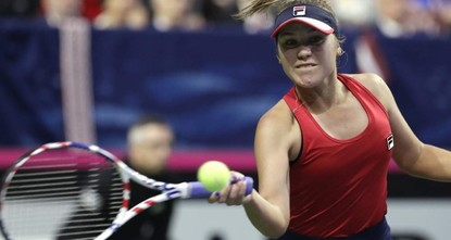 US beats Latvia in doubles decider to reach Fed Cup finals