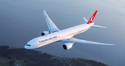 THY's 1st flights from Istanbul New Airport to land in TRNC, Azerbaijan