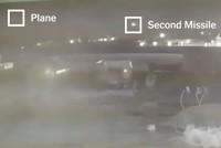 New video shows Iranian missiles hitting Ukraine plane