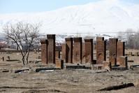 جانب من مقبرة أخلاط سلجوق ميدان الأناضول